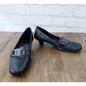 Aerology by Aerosoles Loafers~Leather~Port Chop~9M